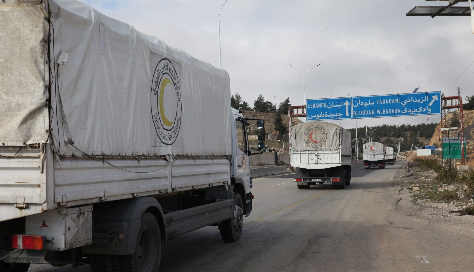 UN: Humanitarna pomoć u petak napokon u Alepu