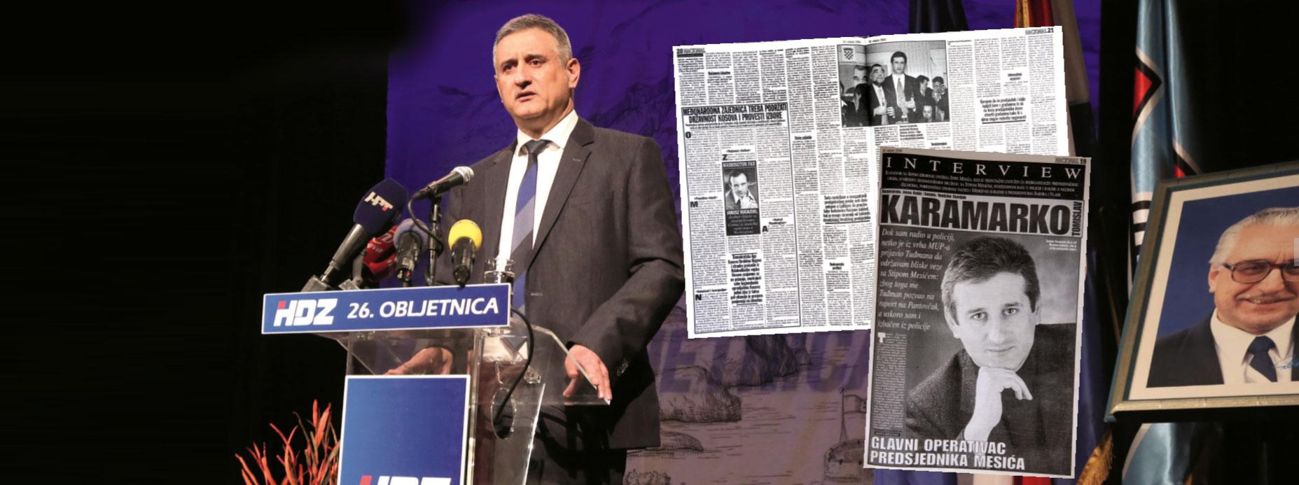 EKSKLUZIVNO: KARAMARKO 2000.: 'DUHOVNO I POLITIČKI VEĆ ODAVNO S HDZ-om NEMAM NIKAKVE VEZE'
