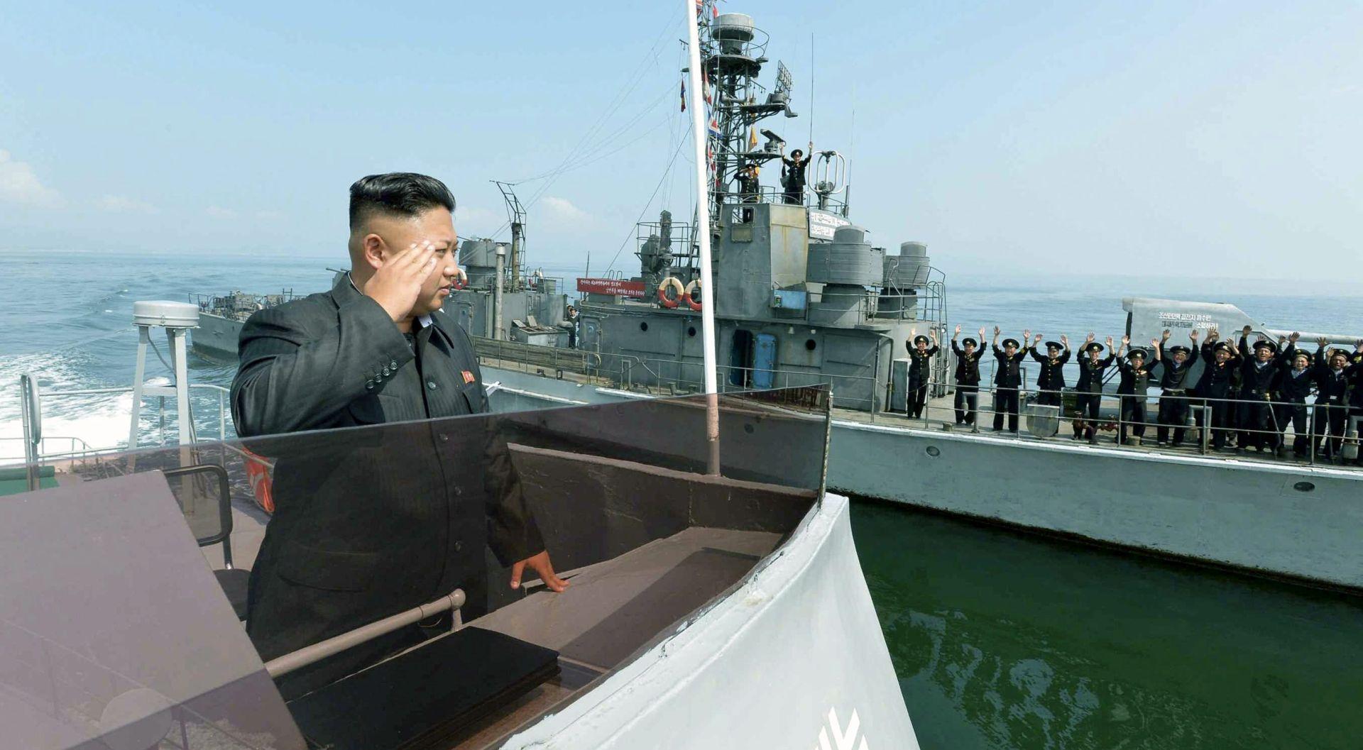 Sjeverna Koreja ispalila raketu s podmornice
