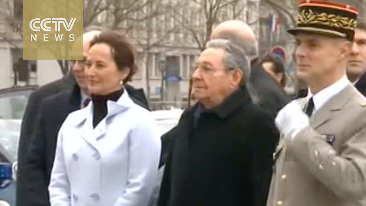 VIDEO: Raul Castro srdačno dočekan u Francuskoj