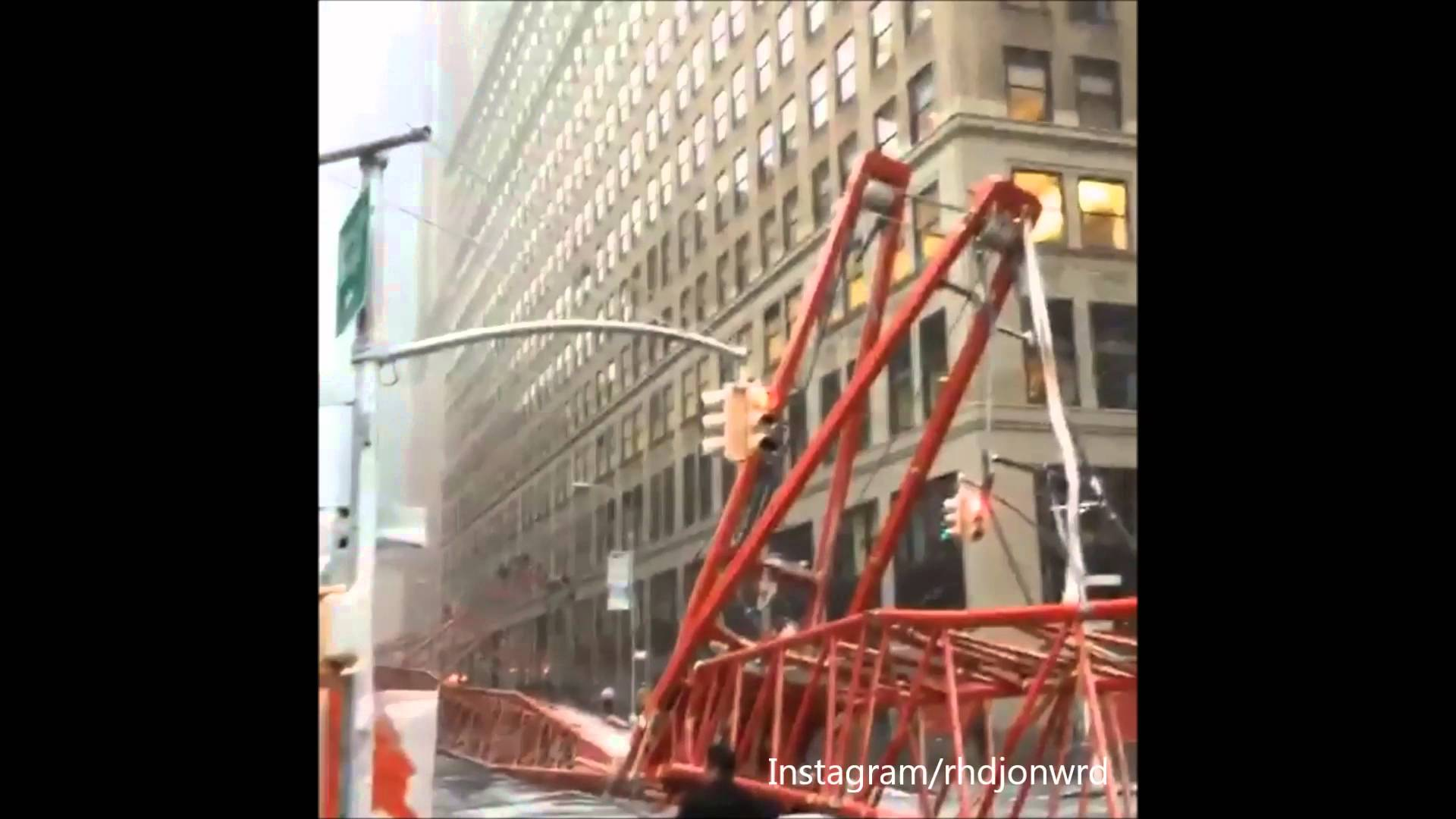 VIDEO Dramatična snimka rušenja goleme dizalice na Manhattanu