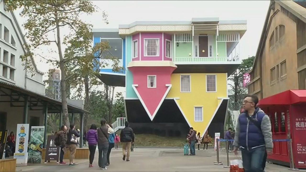 VIDEO: 'Kuća naopačke' na otoku Tajvanu privlači sve više posjetitelja
