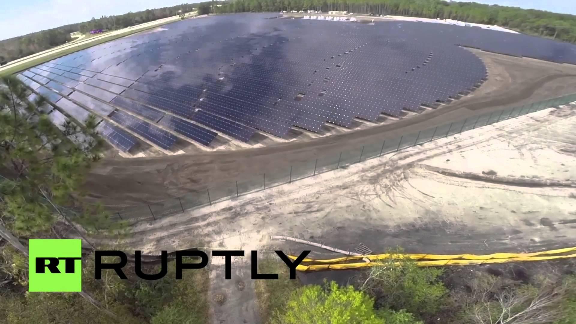 VIDEO: Tvrtka Disney pokrenula solarnu elektranu na Floridi