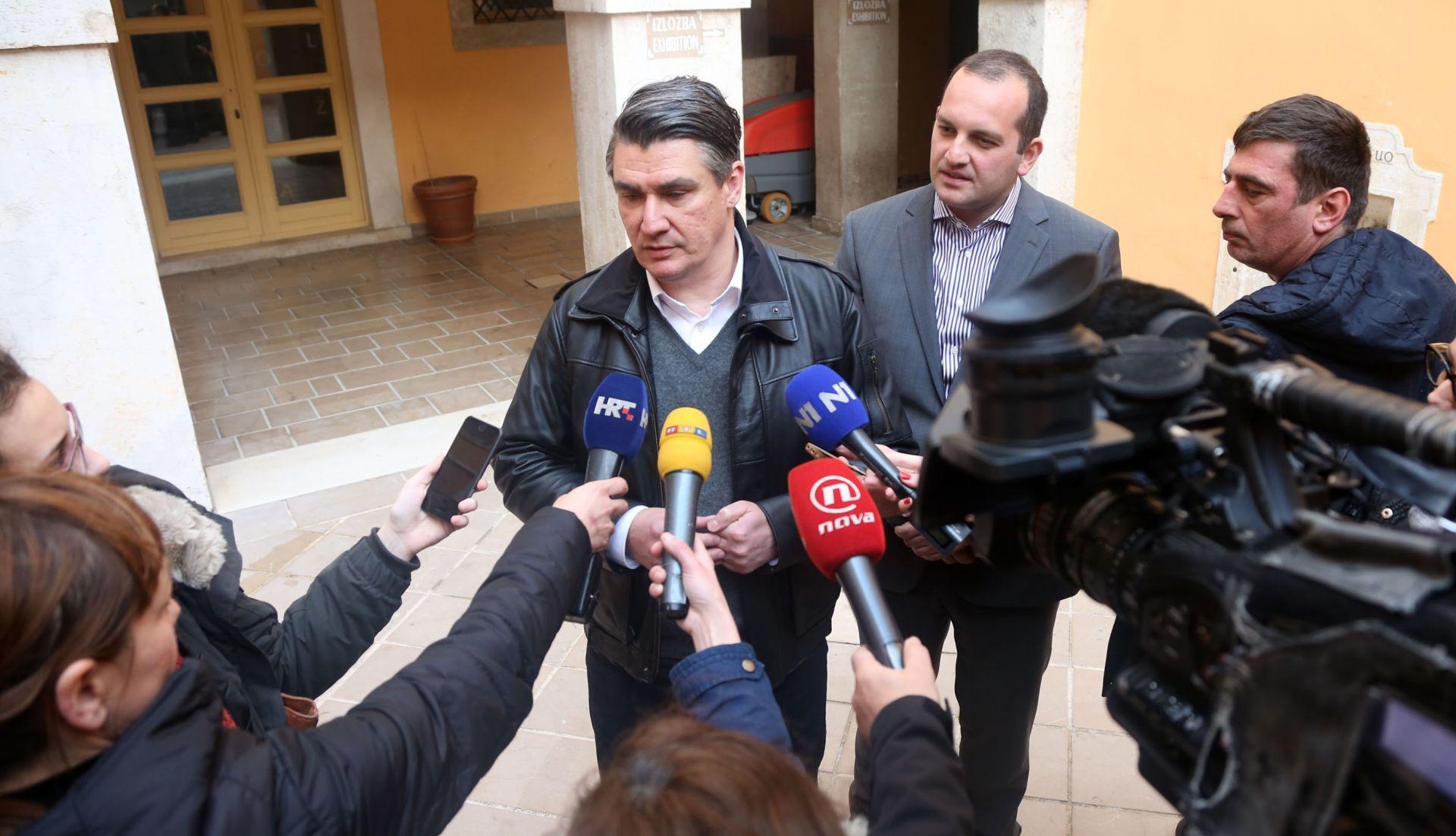 Zoran Milanović: Mislim da HRT radi za HDZ, često radi poluprofesionalno, ali to ne znači da bih tamo radio čistke
