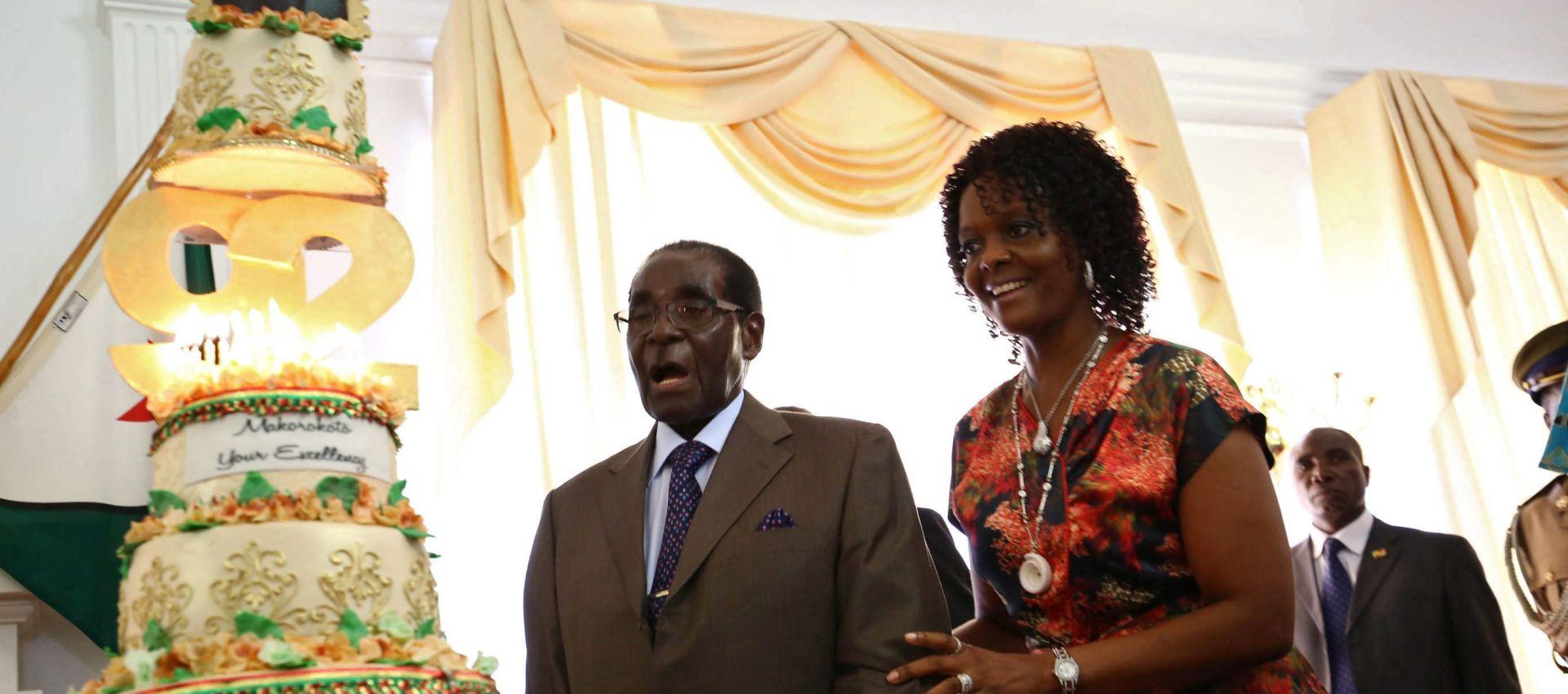 ROBERT MUGABE: Raskošan rođendan 92-godišnjeg vladara dok narod grca u siromaštvu