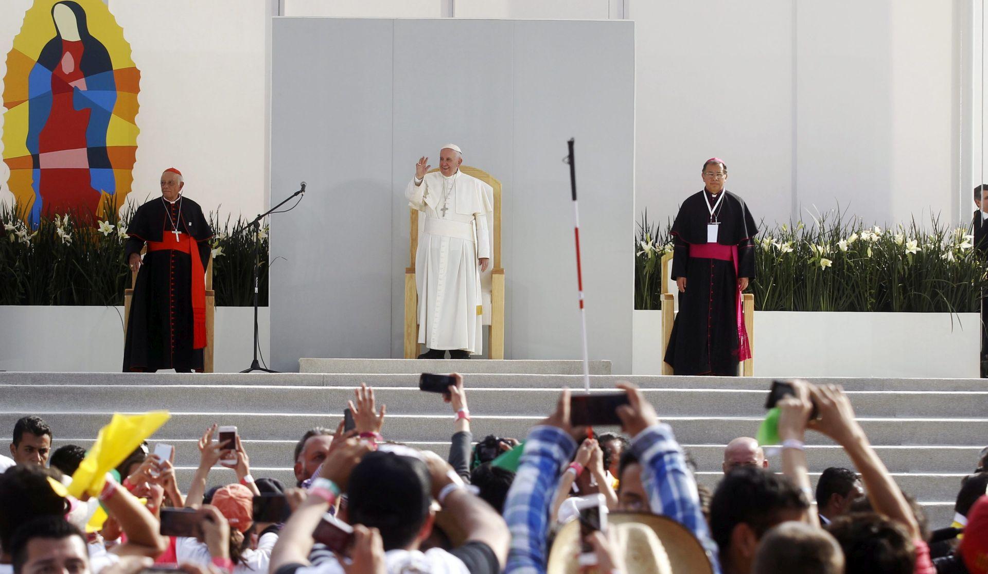 Misa na Rio Grande vrhunac Papina posjeta Meksiku