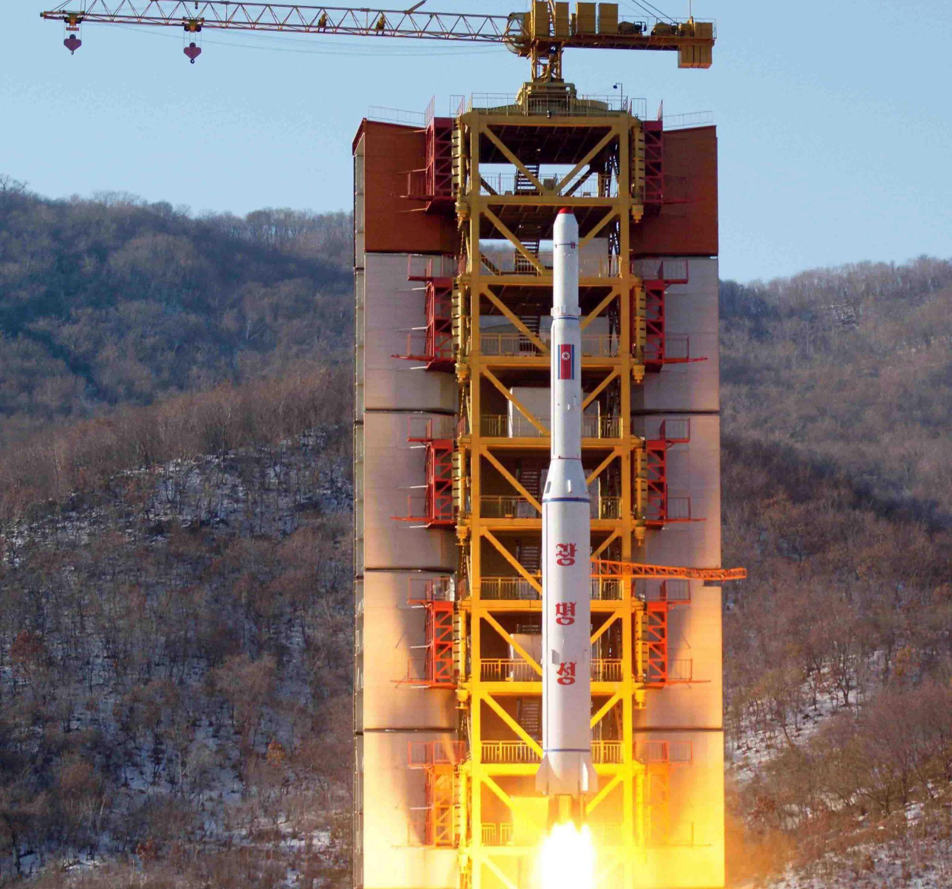 SAD POTVRDIO: Sjevernokorejski satelit postigao stabilnu putanju