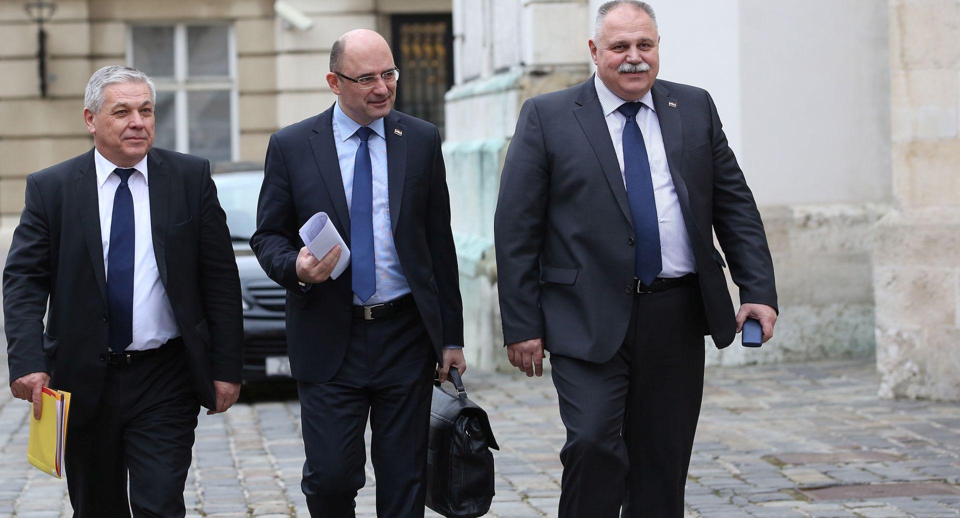 SABOR: Sastanak Vijeća za suradnju Domoljubne koalicije i MOST-a