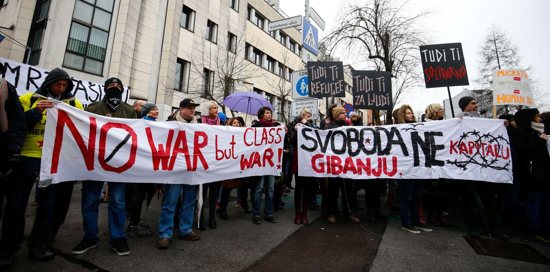 Slovenija: Spriječen fizički kontakt desnice i ljevice na prosvjedima