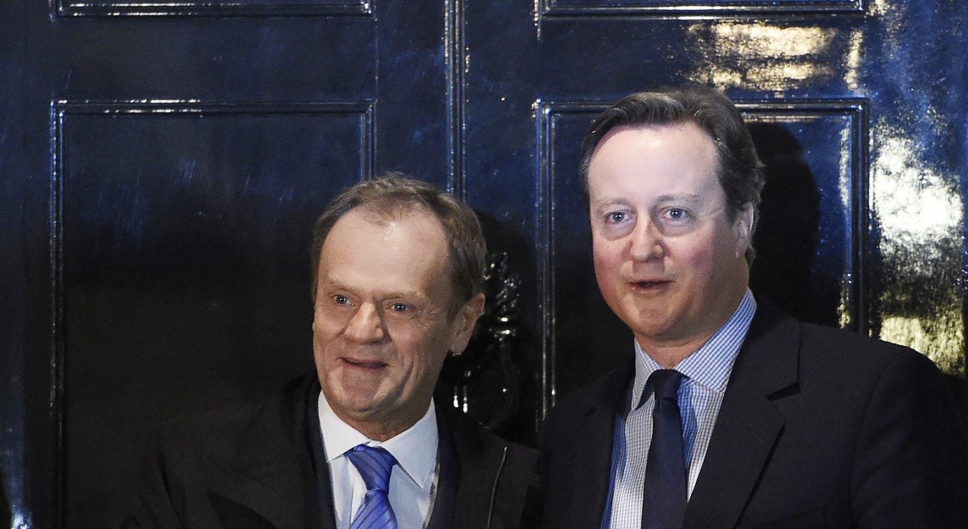 SUMMIT: Tusk se nada sporazumu s Velikom Britanijom