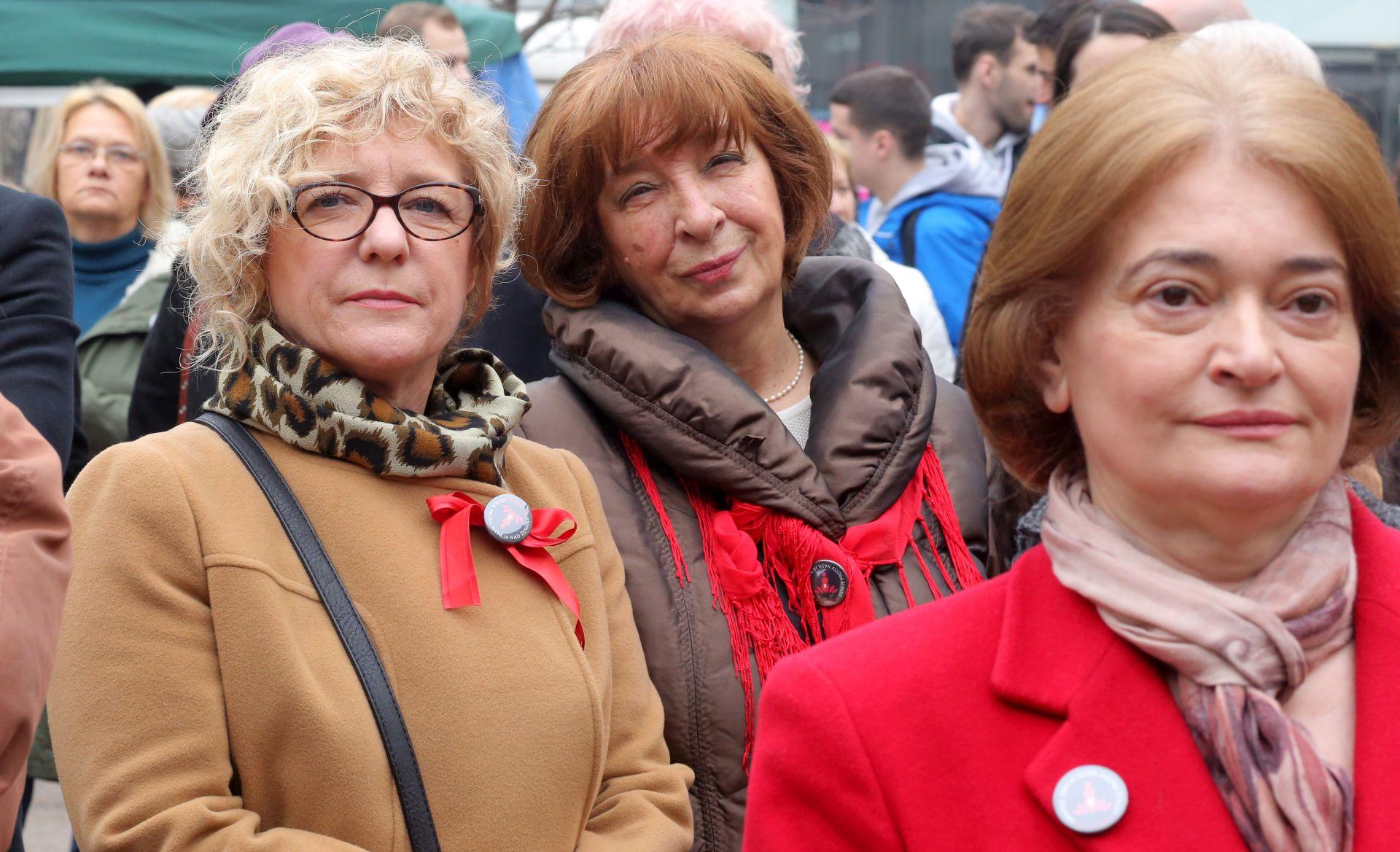 ZAGREB NA VALENTINOVO: Za svijet bez nasilja nad ženama i djevojčicama