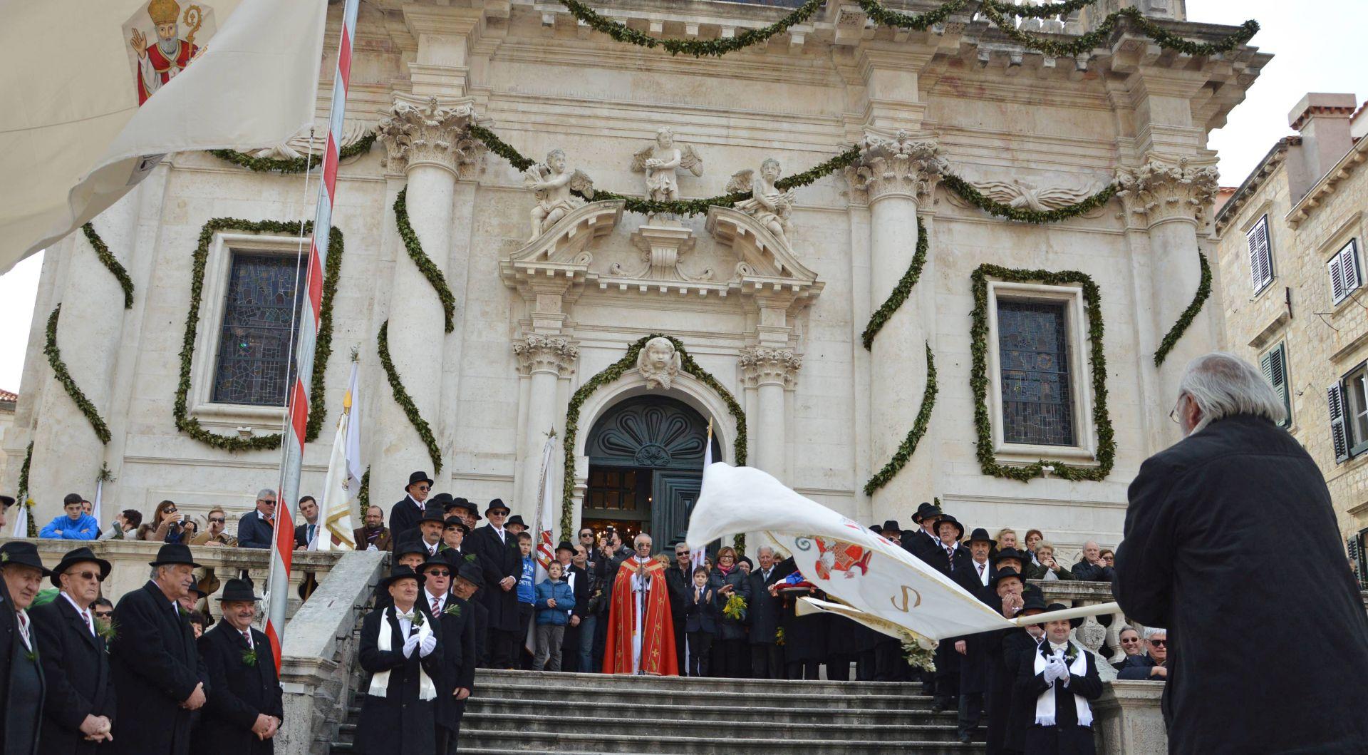 SPUŠTANJE BARJAKA: Završena Festa svetog Vlaha