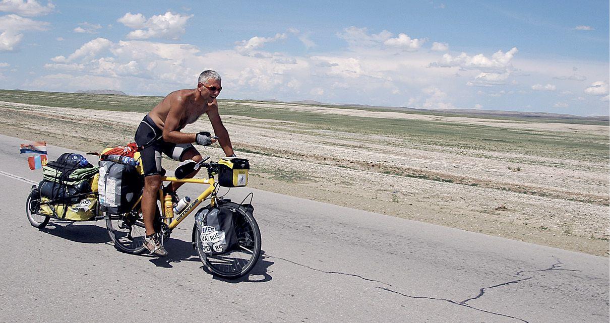 BICIKLOM OKO SVIJETA Olimpijska putovanje HEP-ova biciklističkog veterana