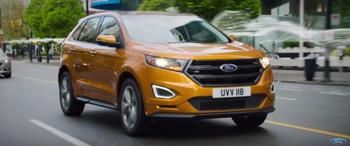 VIDEO: Model od kojeg zastaje dah – Ford Edge 2017