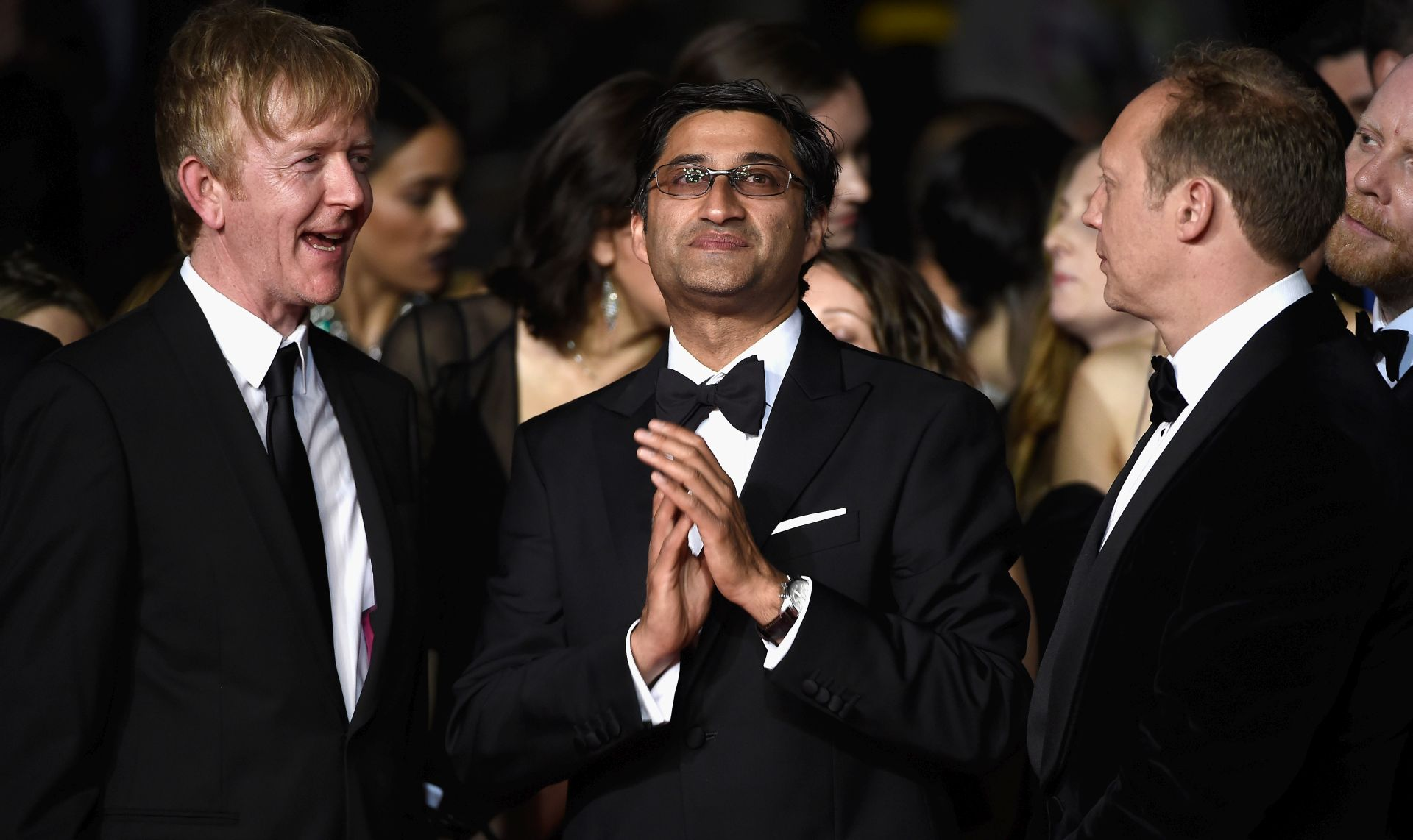 Chris King i Asif Kapadia. FOTO: Ian Gavan/Getty Images