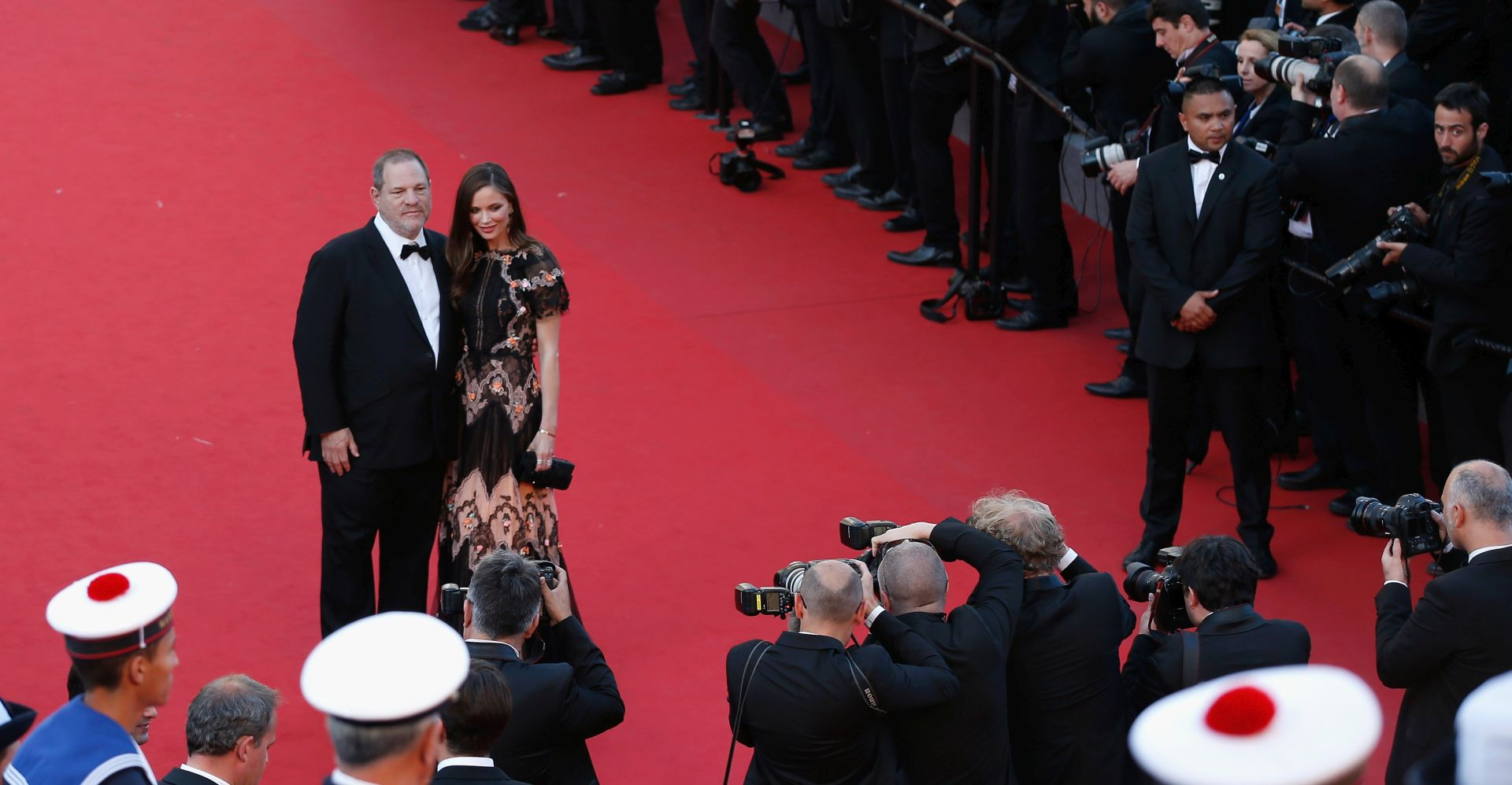 Harvey Weinstein i Georgina Chapman. FOTO: Tristan Fewings/Getty Images