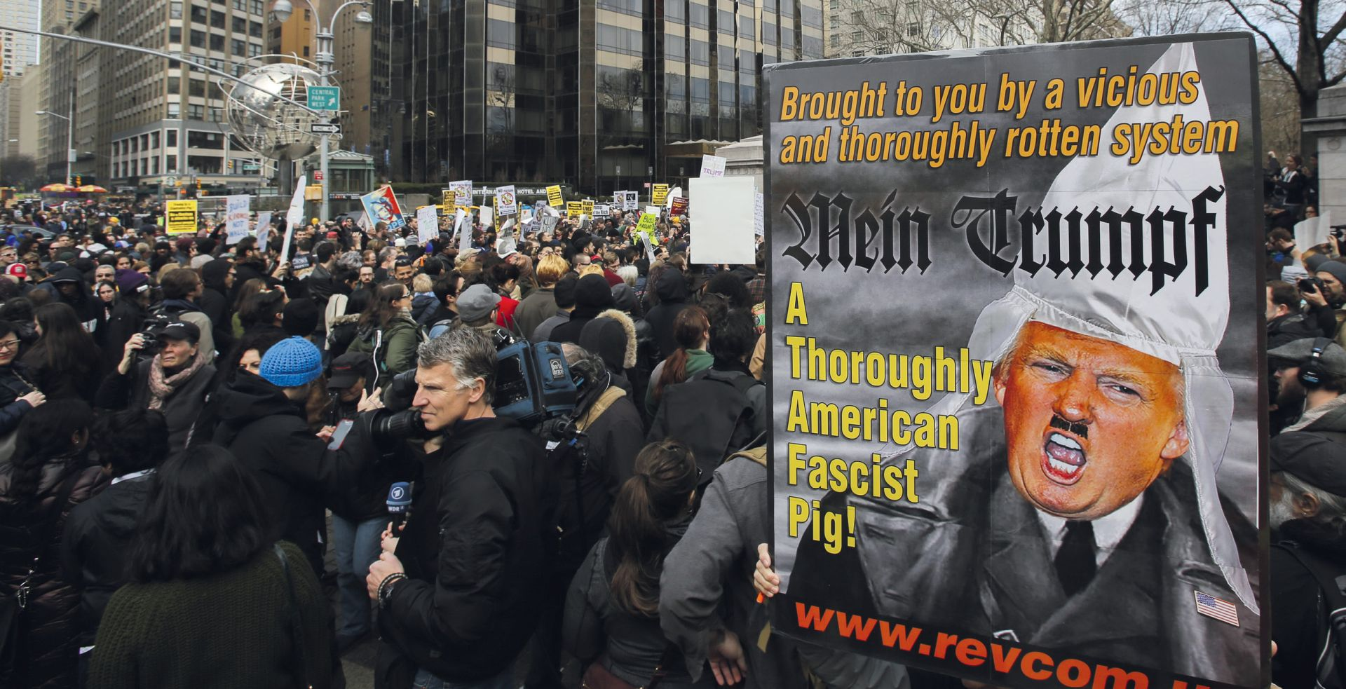 Liberalni Hollywood u borbi protiv 'ksenofobnog fašista' Donalda Trumpa