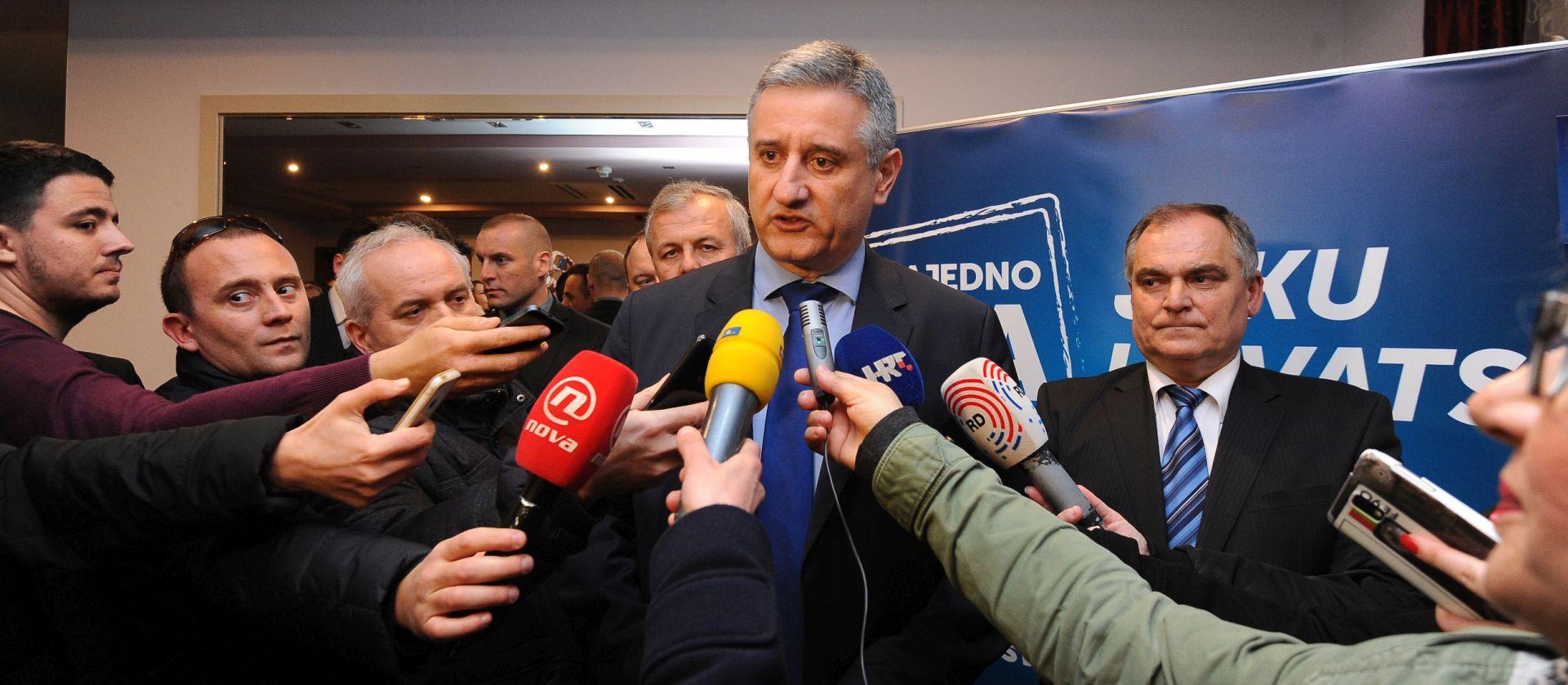 Karamarko: Trakavica oko Lozančića najmanje koristi nacionalnoj sigurnosti