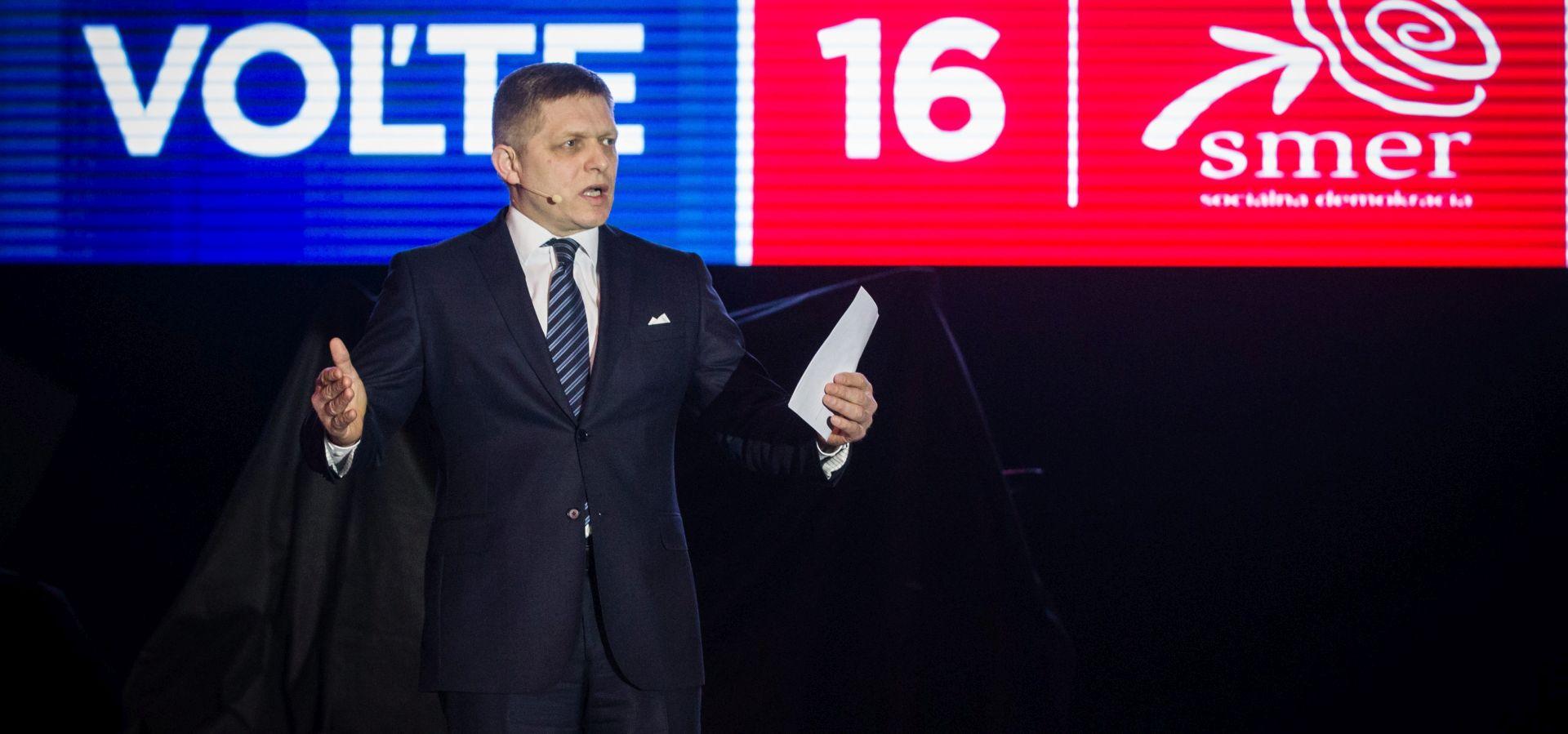 SLOVAČKA UOČI IZBORA Robert Fico na putu prema trećem mandatu