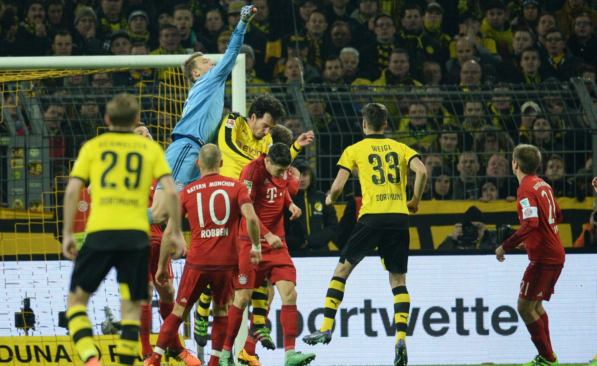 BUNDESLIGA Bayern i Borussia Dortmund bez golova