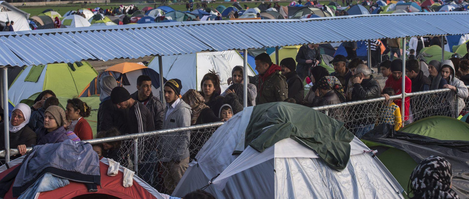 Atena podiže zdravstveni centar za migrante u Idomeniju