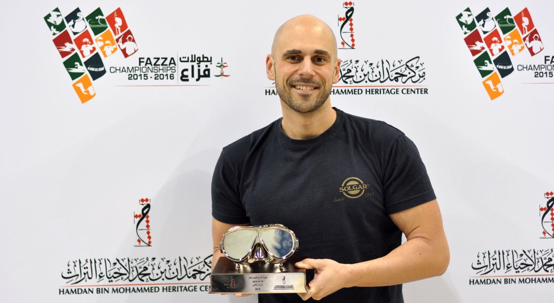 Goran Čolak u Dubaiju zaronio do drugog mjesta
