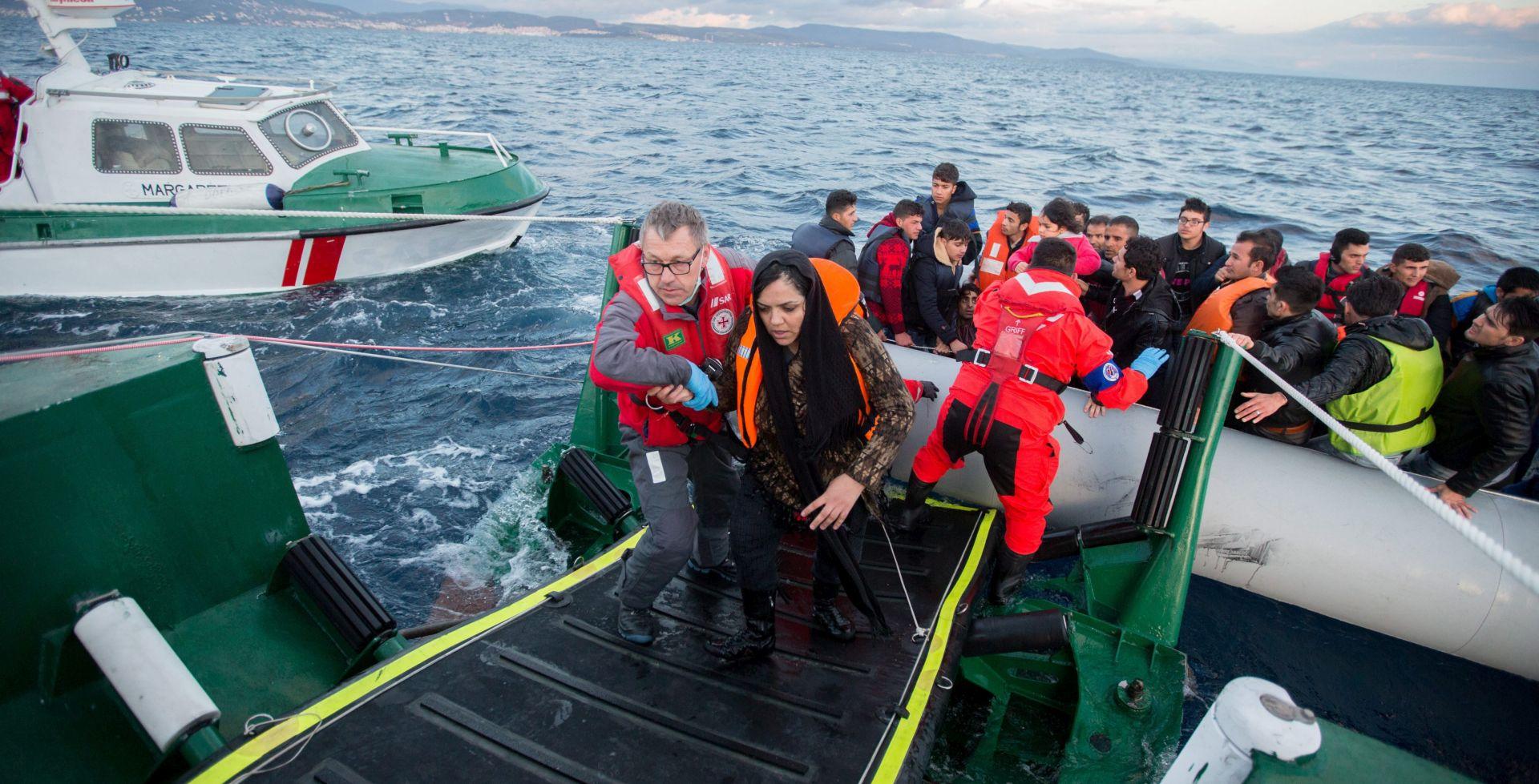 Na Sredozemnom moru spašeno gotovo 1500 migranata