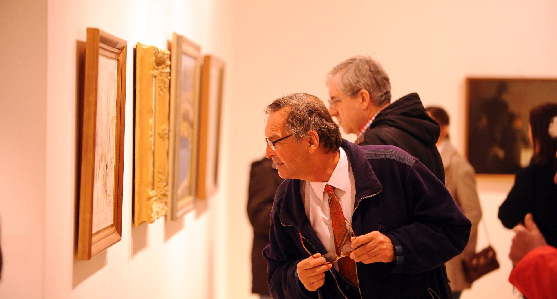 """U splitskoj Galeriji umjetnina otvorena izložba """"Umjetnine iz privatnih zbirki Srednje Dalmacije"""""""