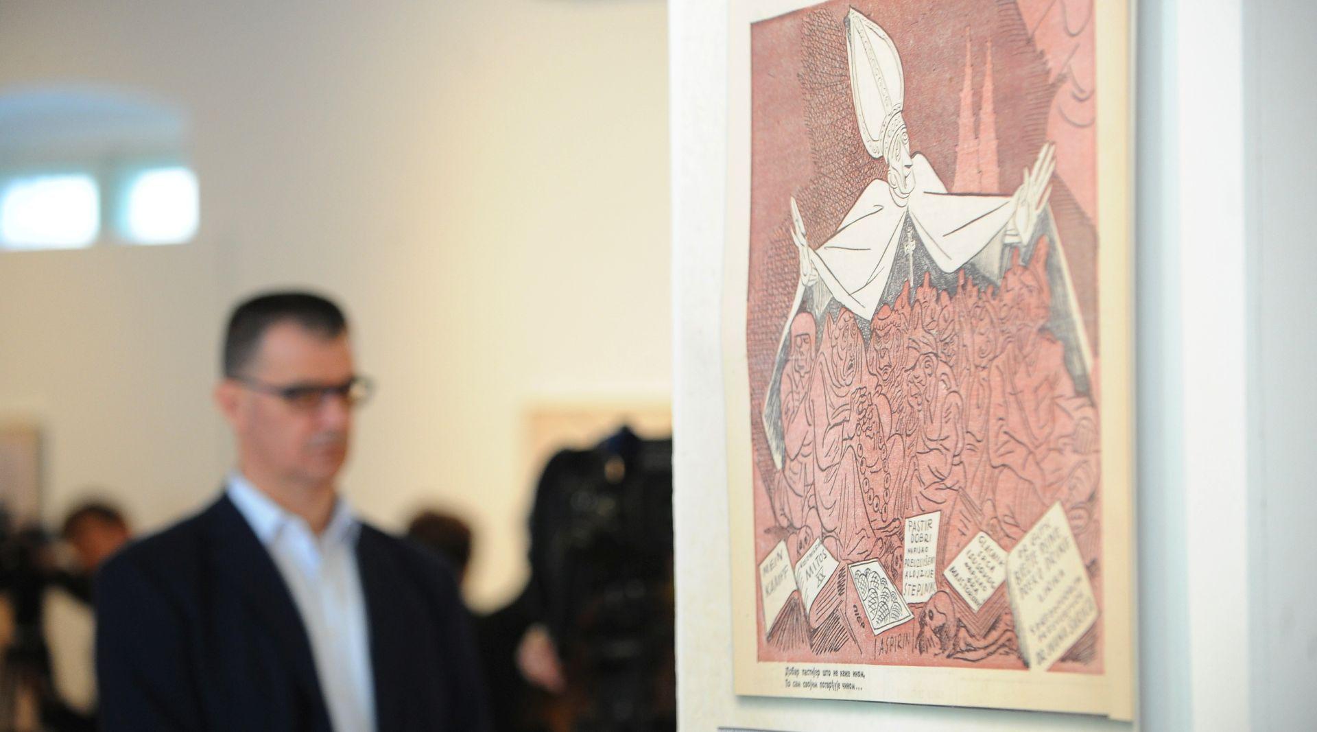 """Otvorena izložba """"Alojzije Stepinac u slici i riječi"""""""