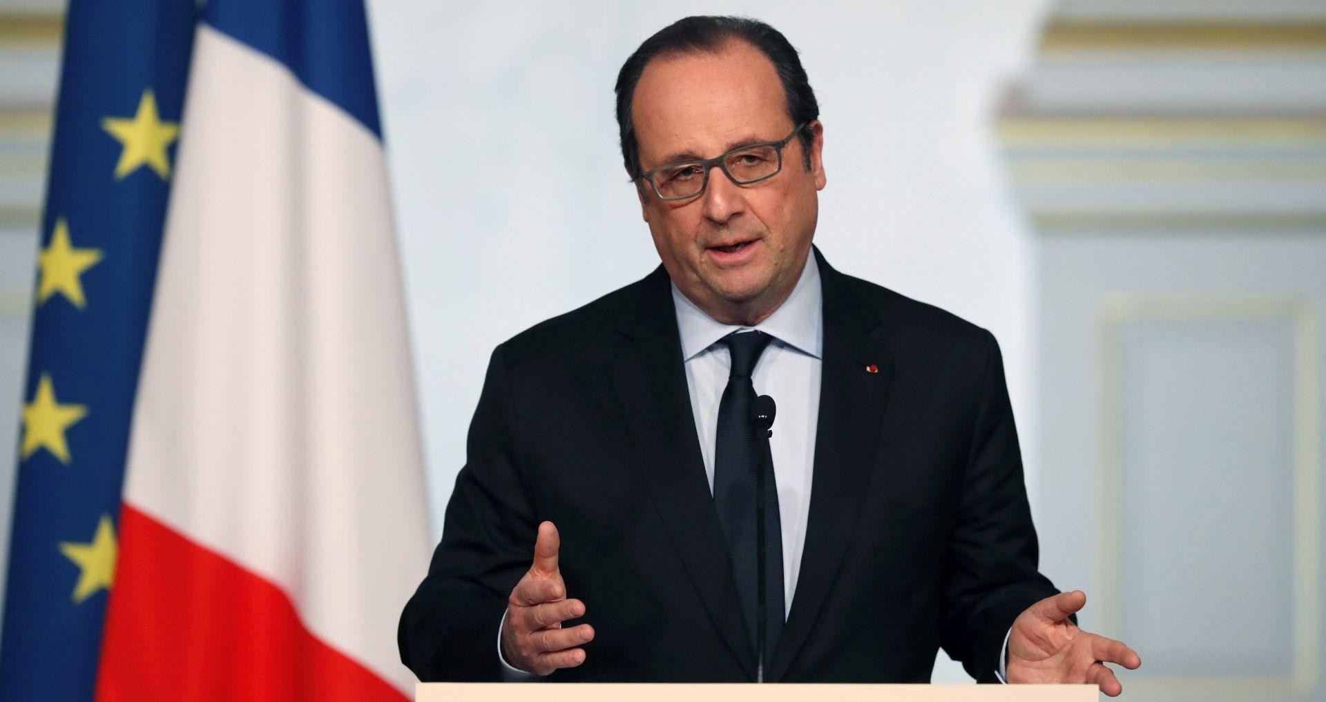 Hollande ne želi praviti ustupke Turskoj