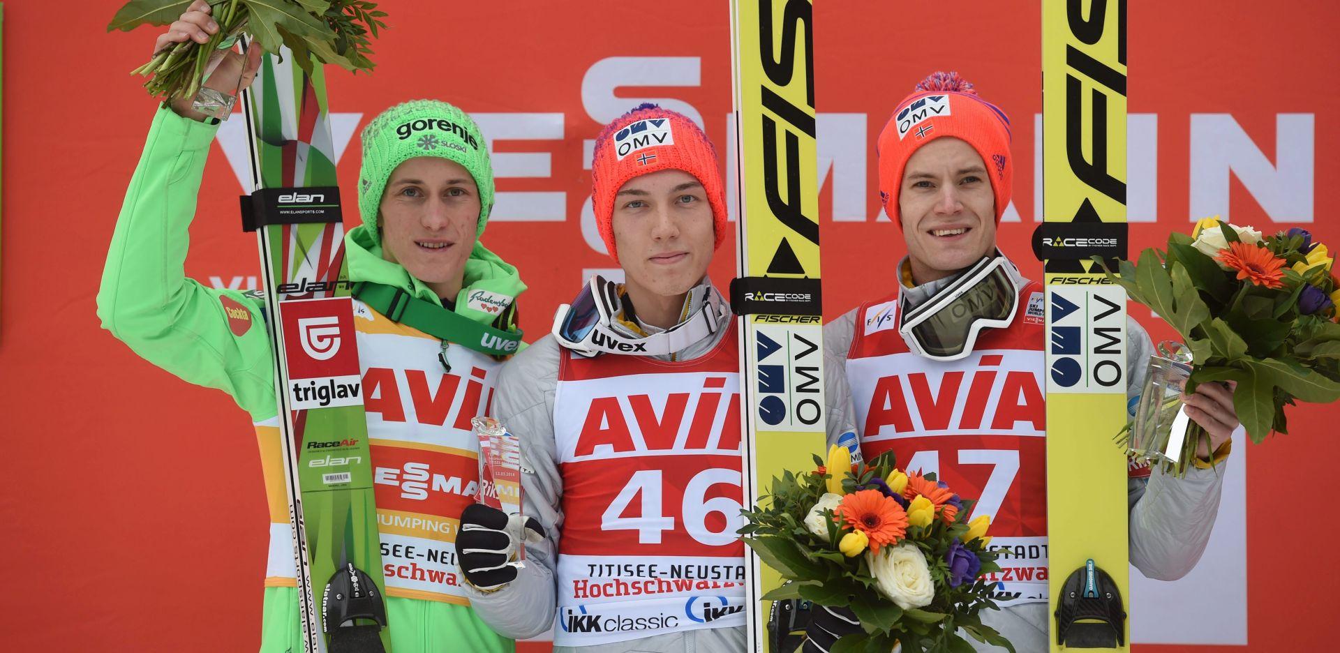 SKIJAŠKI SKOKOVI Forfang pobijedio Petera Prevca