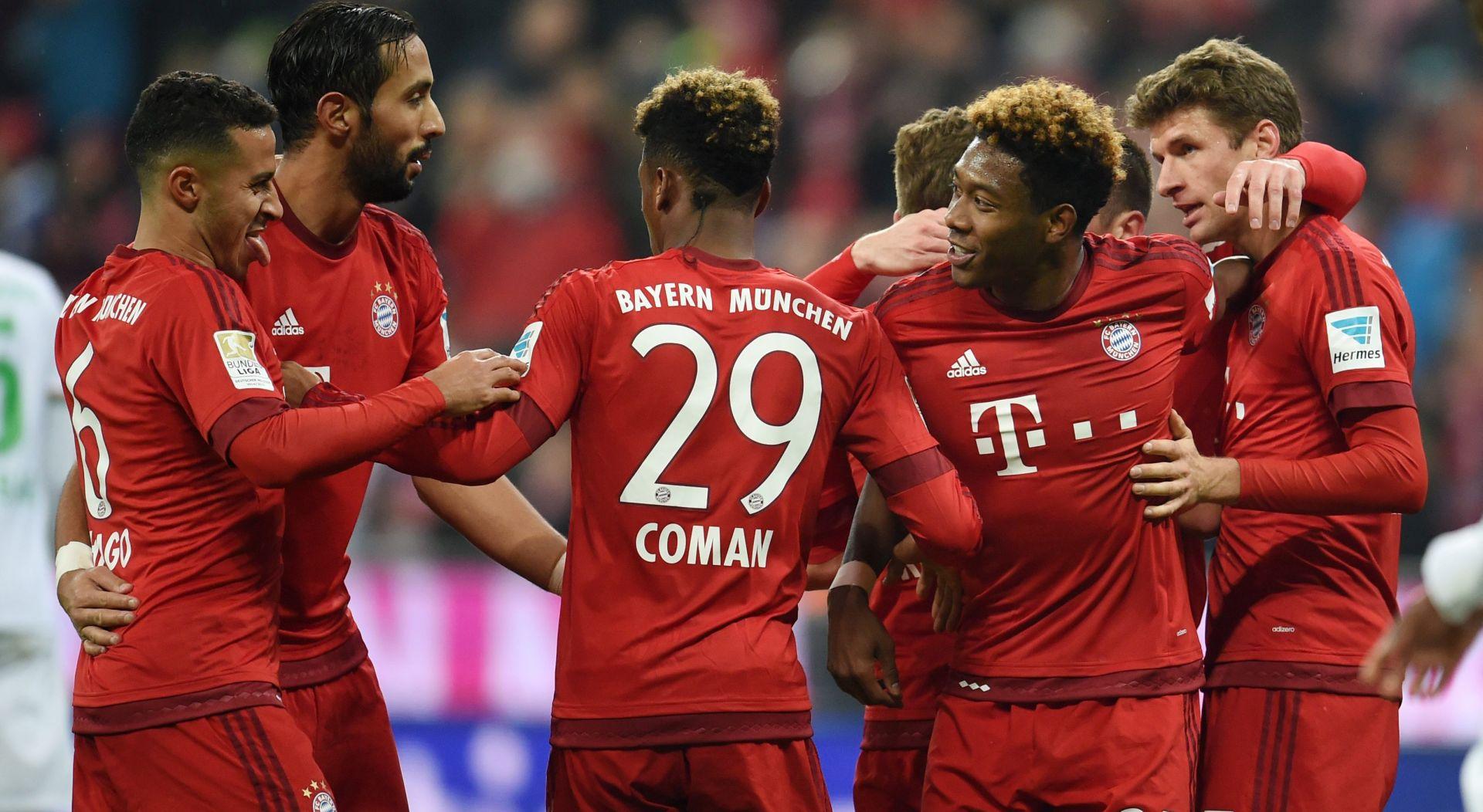 BUNDESLIGA 'Petica' Bayerna, tri asistencije Comana