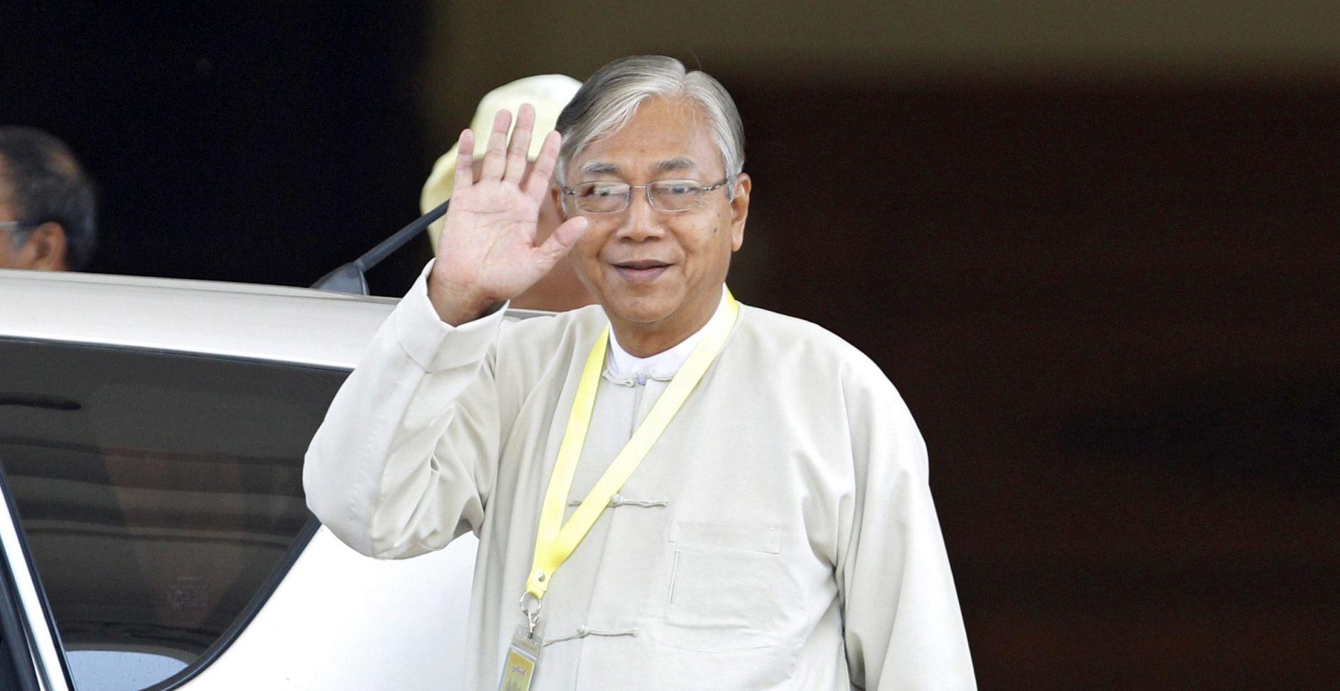 Mianmarski parlament izabrao Htina Kyawa za predsjednika države