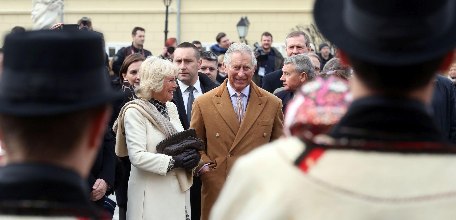Princ od Walesa i vojvotkinja od Cornwalla počeli posjet Osijeku