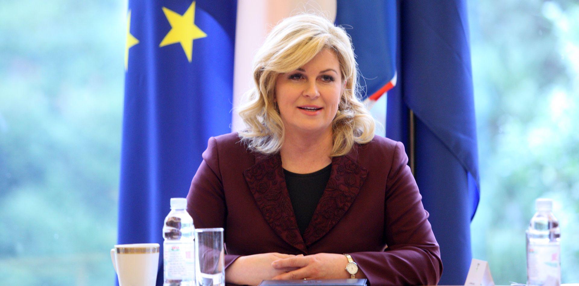 Grabar-Kitarović i Ivanov o incidentu na makedonsko-grčkoj granici