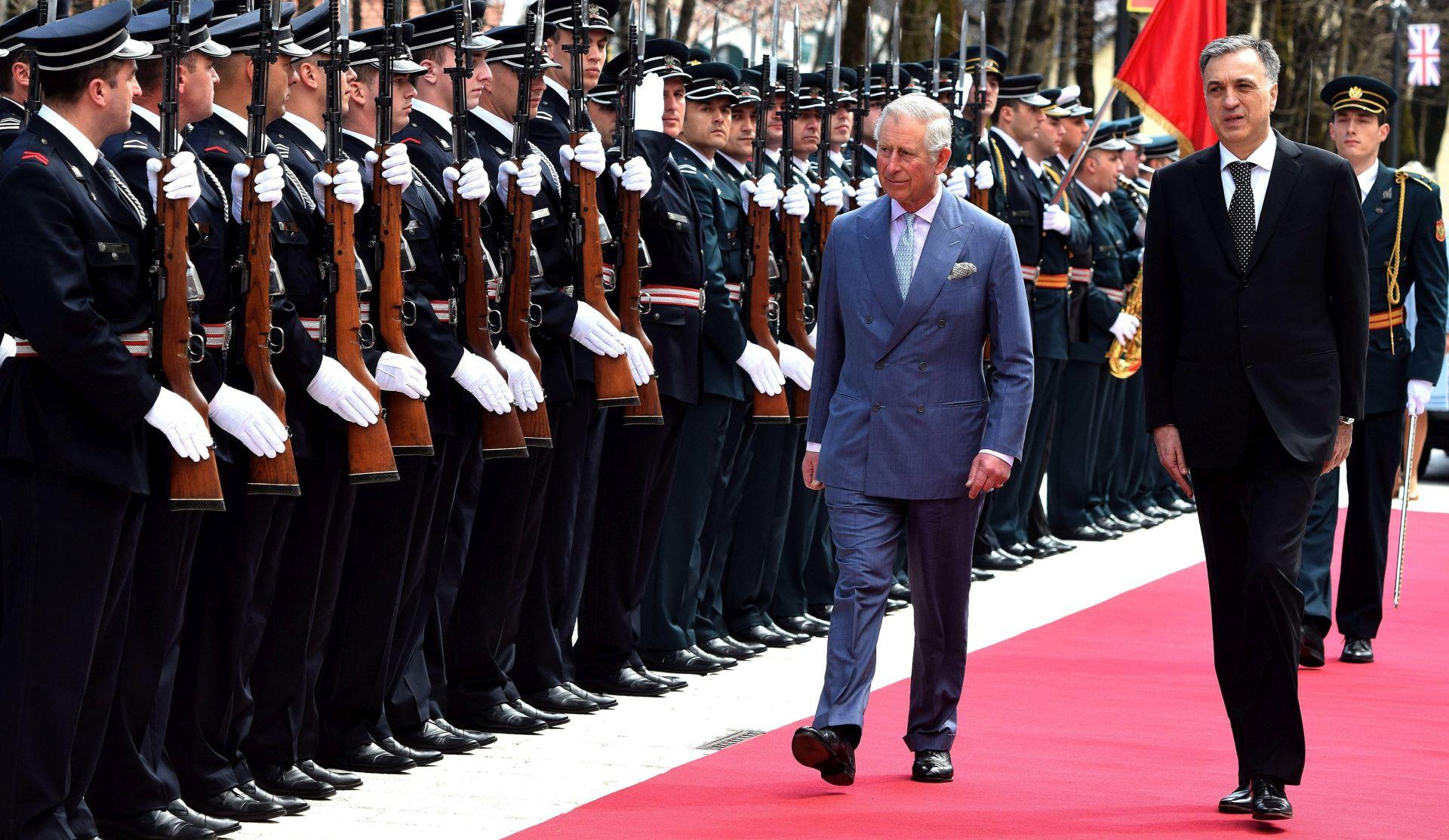 Princ Charles kaže da je njegov posjet balkanskim državama posvećen miru