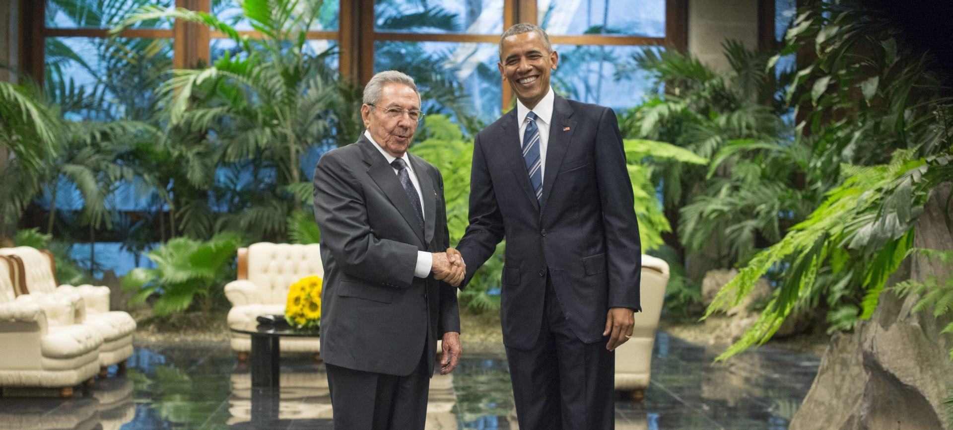 POVIJESNI POSJET Castro primio Obamu u Palači revolucije