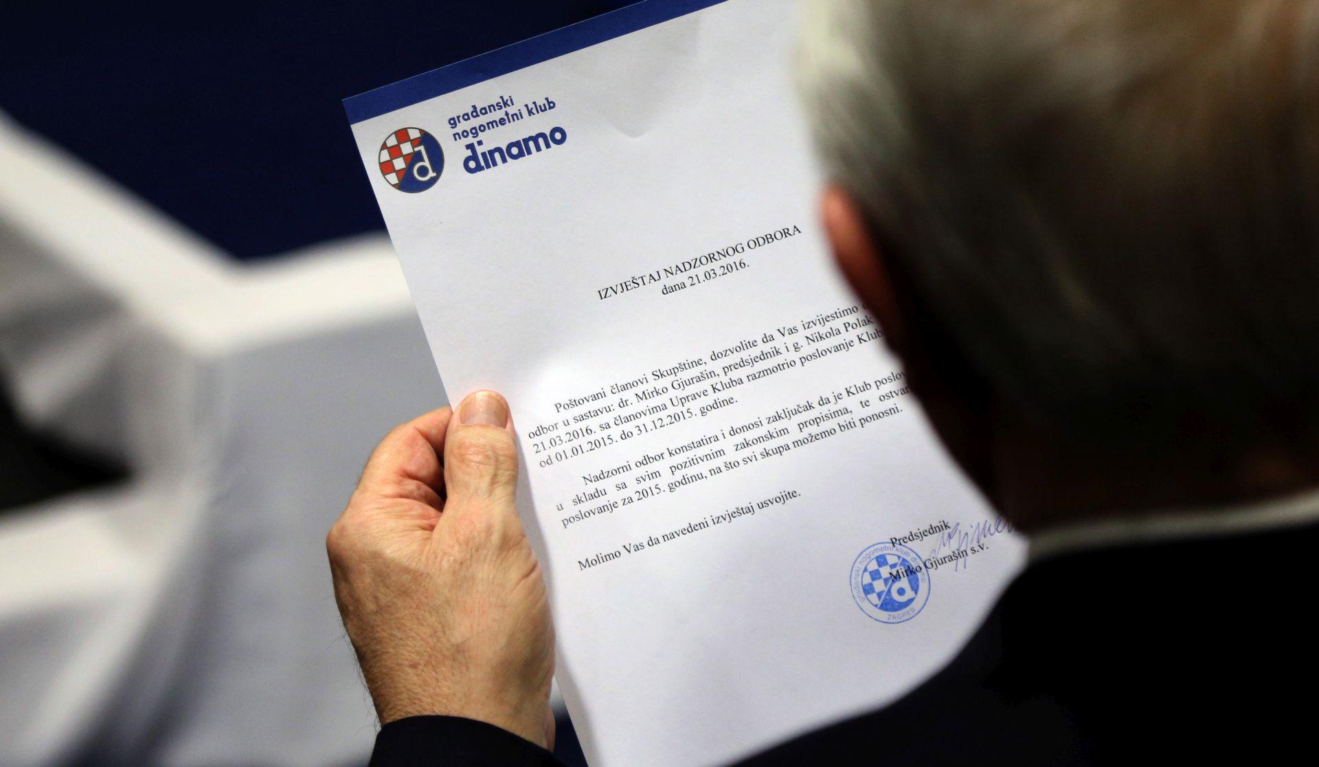Dinamo oštro osudio jučerašnji napad na Zdravka Mamića
