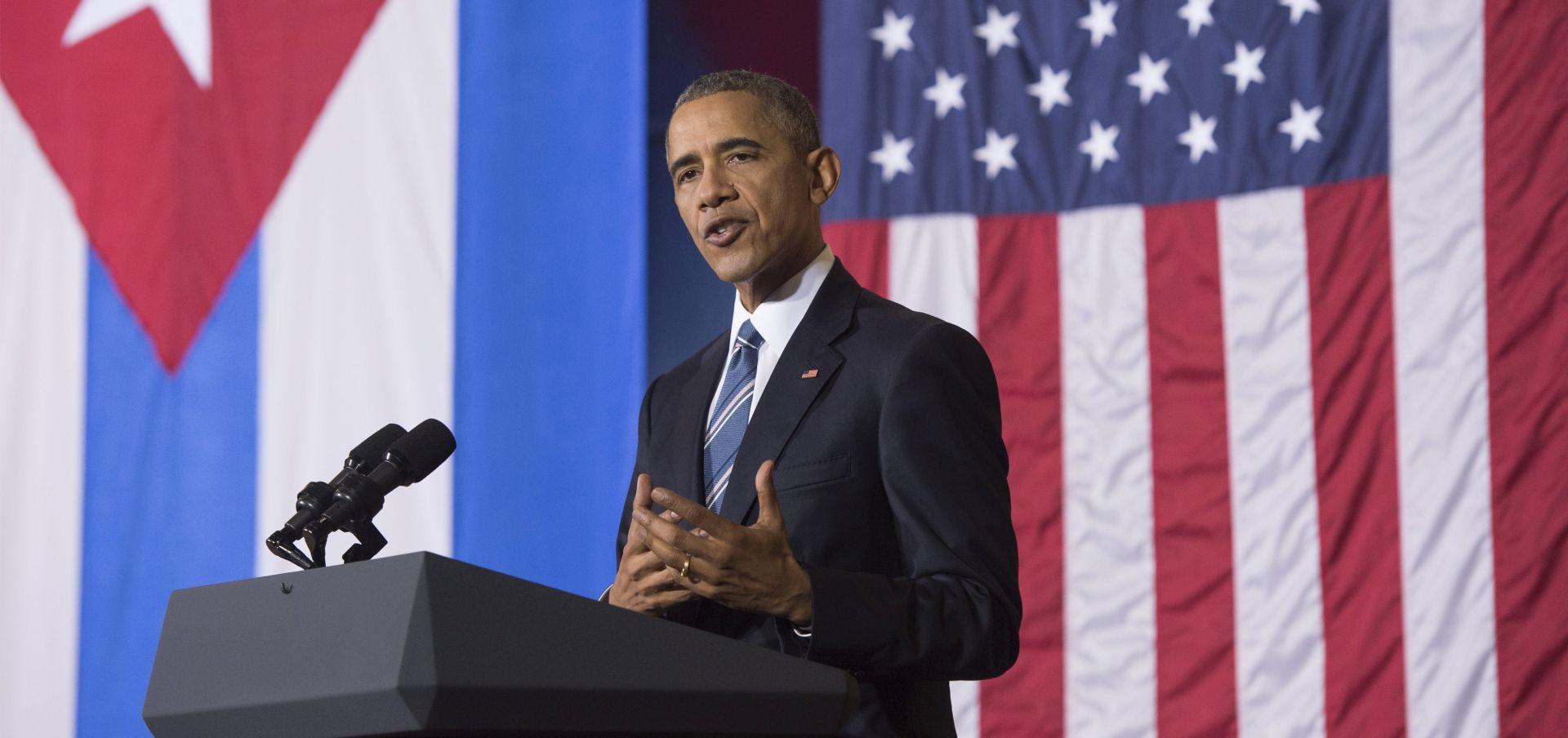 Obama se danas obraća Kubancima, razgovara s disidentima i ide na bejzbol