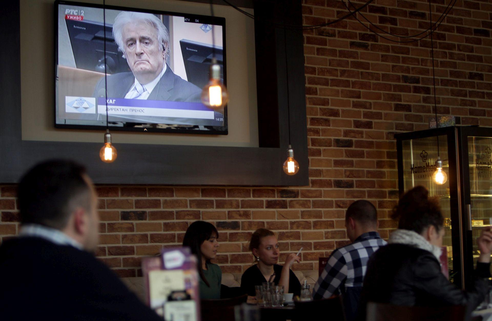 Presuda Karadžiću udarna vijest srbijanskih elektroničkih medija i portala