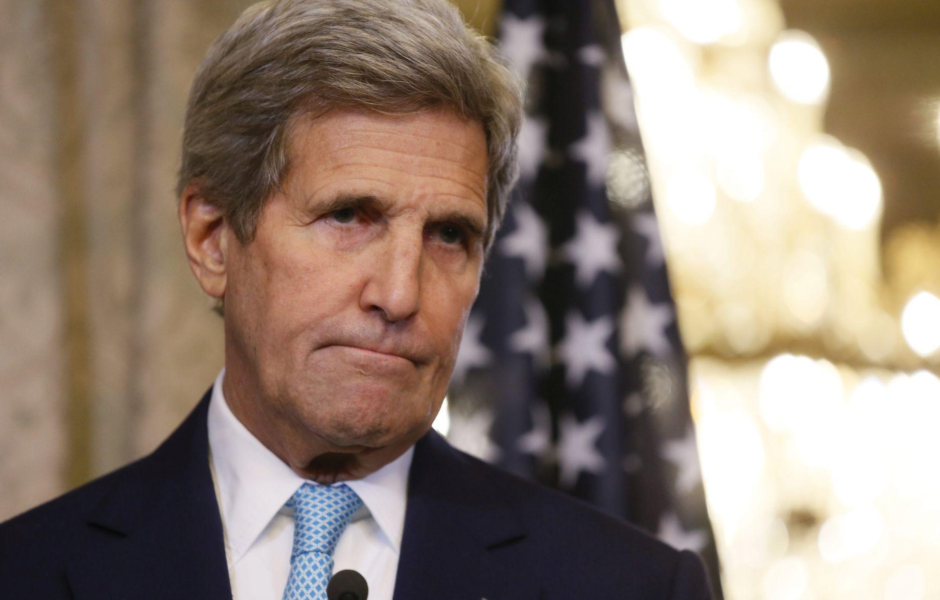VIDEO: Govor Johna Kerrya nakon zatvorenog sastanka u Moskvi