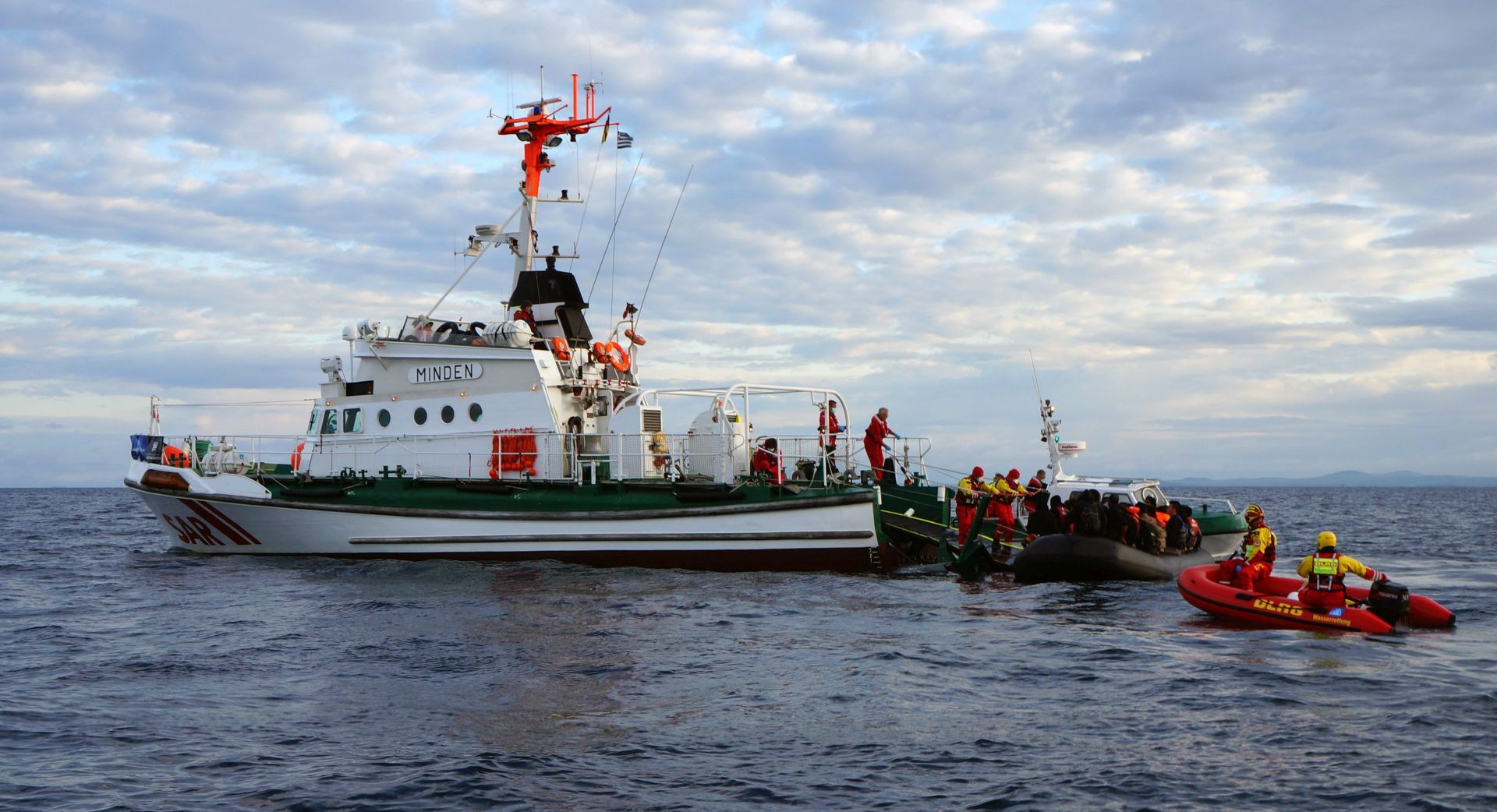 Turska presrela 350 migranata na putu prema Lesbosu