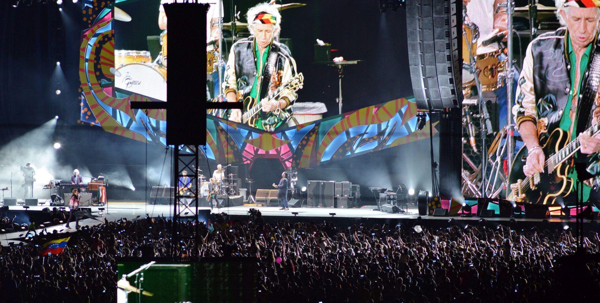 FOTO: Rolling Stonesi održali povijesni koncert na Kubi