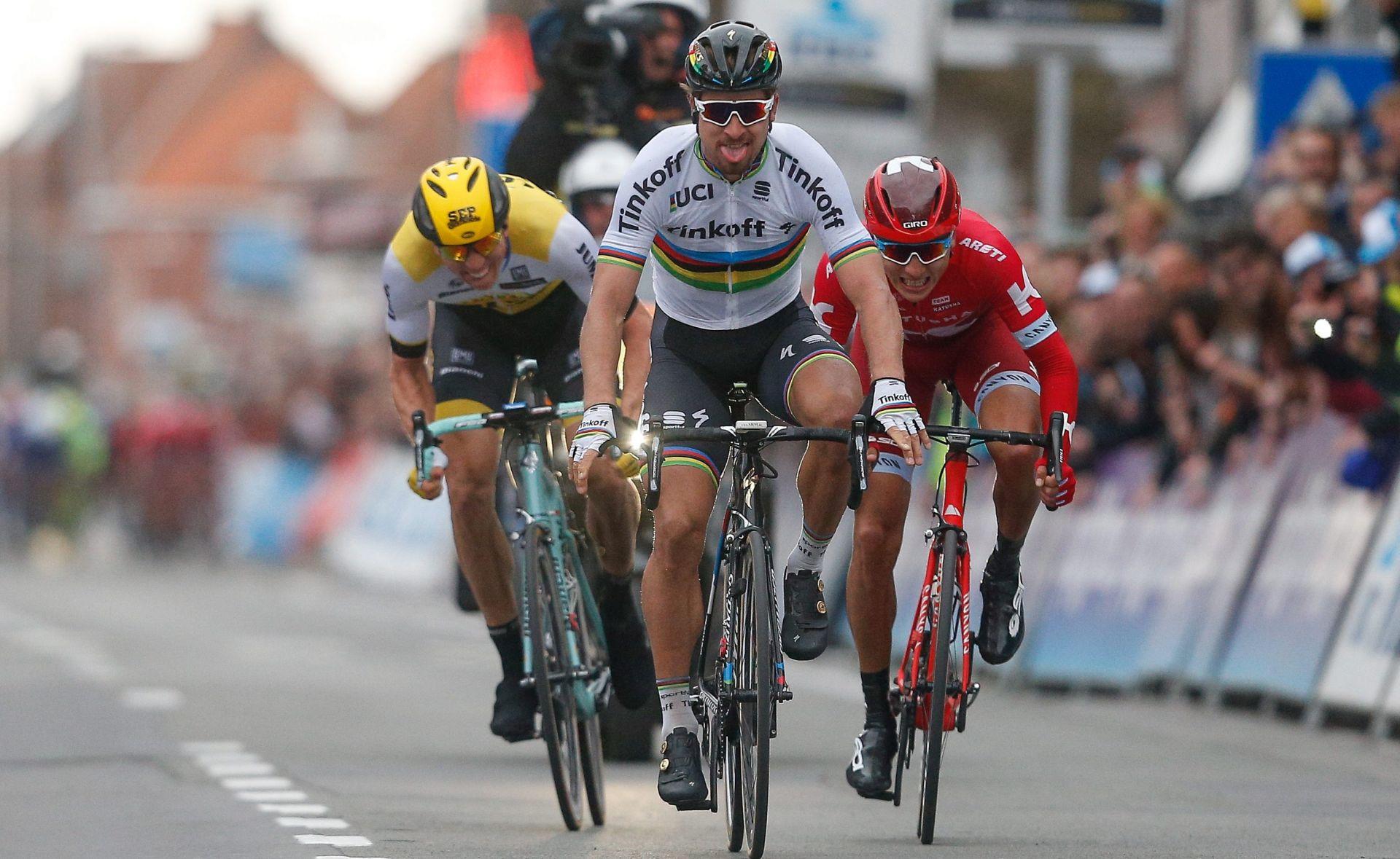 BICIKLIZAM Gent-Wevelgem: Prva pobjeda Sagana kao svjetskog prvaka, Demoitie kritično