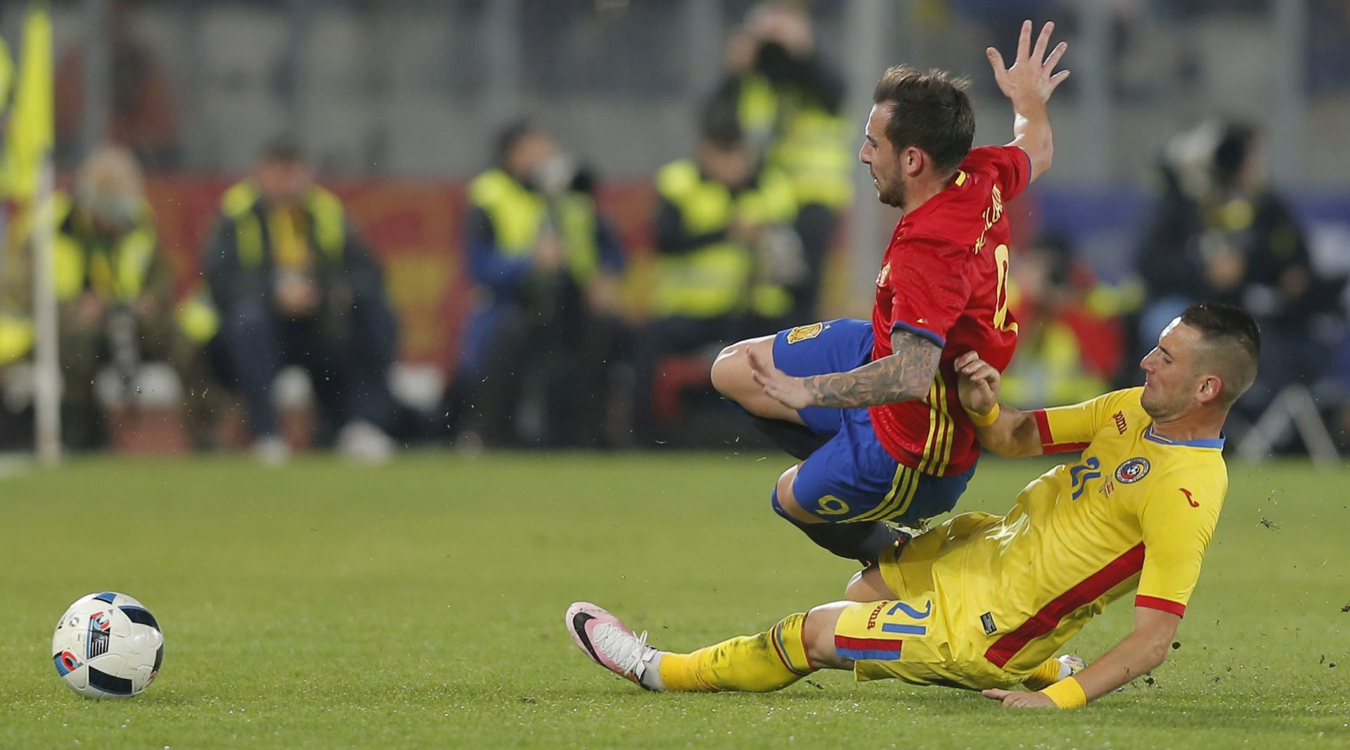 NOVI REMI HRVATSKIH PROTIVNIKA NA EURO-U Španjolci i Rumunji bez pogodaka