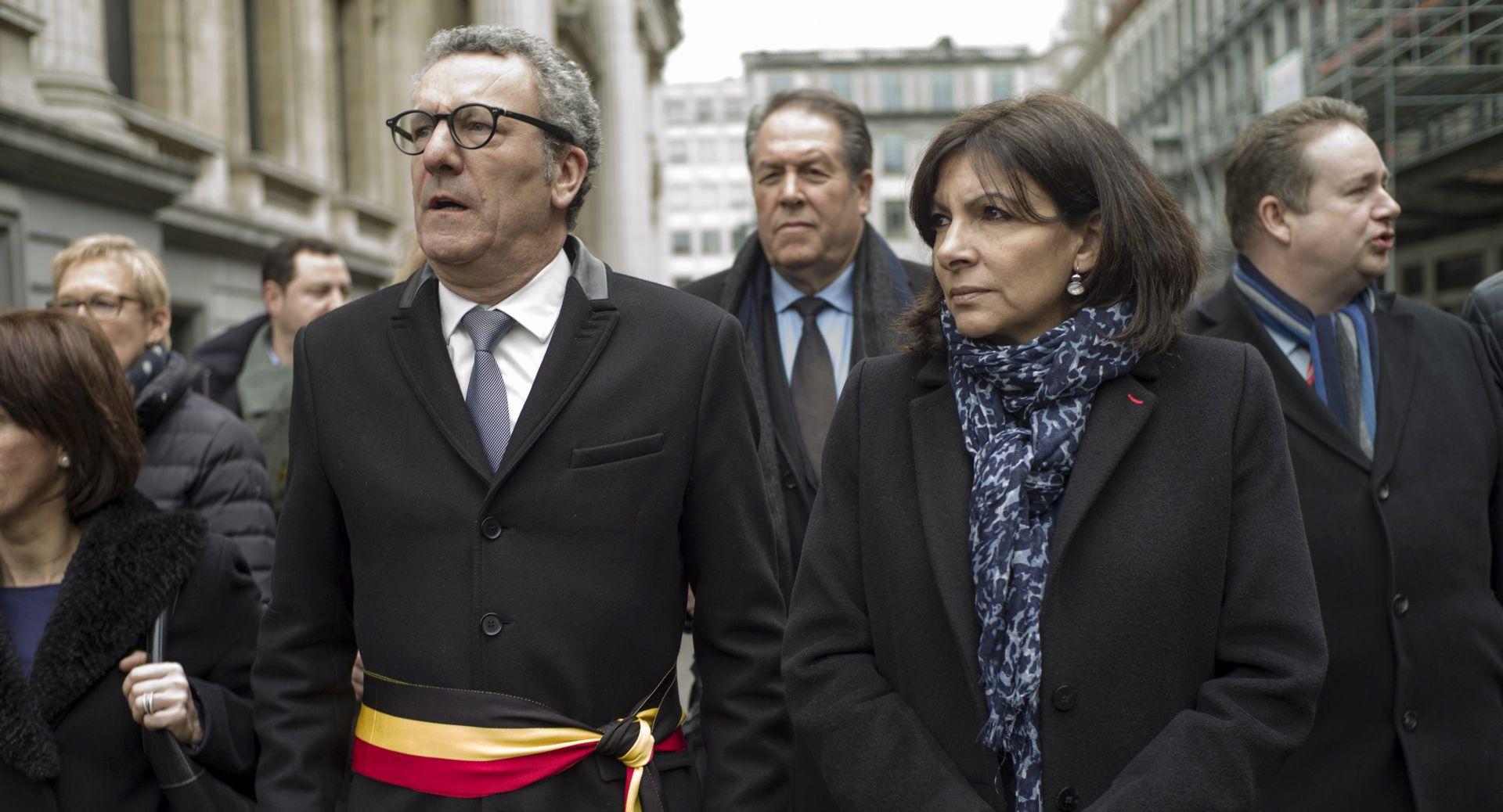 Gradonačelnik Bruxellesa Yvan Mayeur u utorak u Parizu