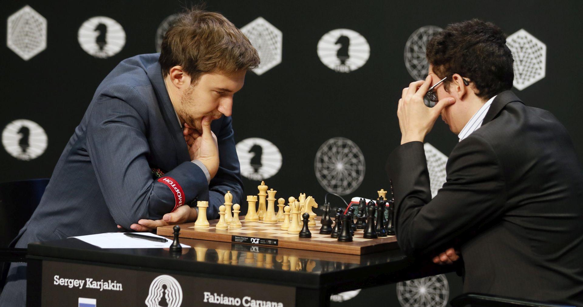 ŠAH: TURNIR KANDIDATA Rus Karjakin izazivač svjetskog prvaka Carlsena