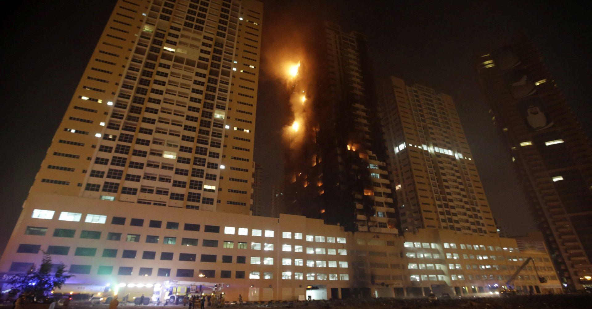 Požar u stambenom tornju u UAE-u, nema izvješća o žrtvama