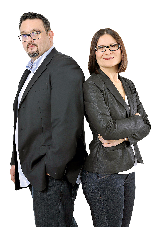 EMISIJA 'INVENTURA' IVICE RUŽIČIĆA I IVANE ŠUBARIĆ HEDL 'Najteži nam je zadatak biti smješniji od političara'