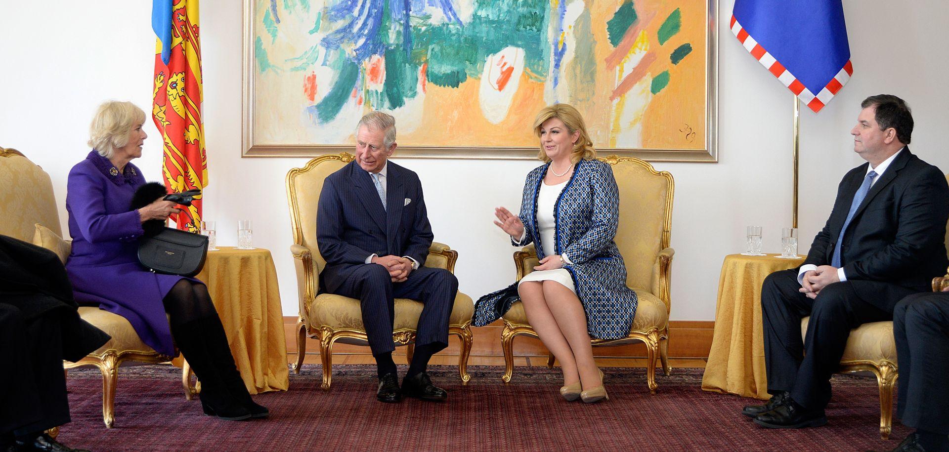 SUSRET S PREDSJEDNICOM Princ Charles pokazao interes za stanje hrvatskog gospodarstva